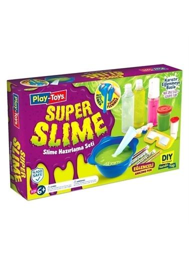 Kızılkaya Oyuncak Play Toys Süper Slime Hazırlama Seti Süper Slime Hazırlama Do İt Yourself Renkli